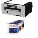 Ricoh SG7100 + cartouches Sublijet-R